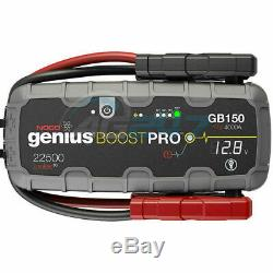 12v NOCO Genius GB150 Boost Pro 4000A Lithium Car 4x4 Battery Jump Starter Pack