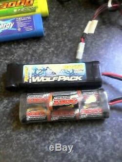 1/10 Hsp 94111 Pro Monster Truck Brushless With 4 Batteries Ripmax Charger