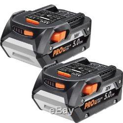 2X Genuine AEG/RIDGID L1850R 18V Pro 5.0Ah 90Wh Hyper Lithium-ion Battery 5Ah