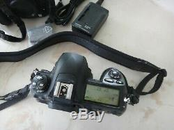 2 FUJIFILM FinePix S5 Pro 12.34MP Digital SLR Camera Bodies+Charger+Batteries