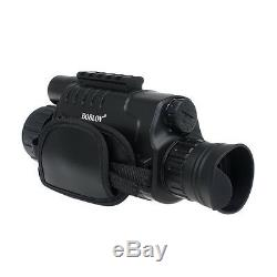5x40 Digital Infrared IR Night Vision Scope 8GB DVR Camera+Battery Charger PRO