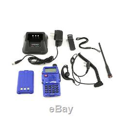 6 Rugged RH-5R Two Way Radios w Ducky Antennas, XL Batteries & Bank Charger