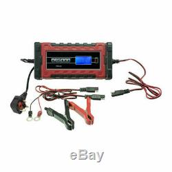 ABSAAR 12V 1A Auto Maintenance Trickle Battery Charger Optimiser Motorcycle Quad