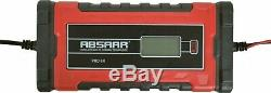 ABSAAR 12V 8A Automatic Battery Charger replace CTEK MXS 5.0 & MXS 7.0 charger