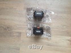 AEG 18V L1825R 2.5Ah pro Li-Ion Power Tool Battery x 2
