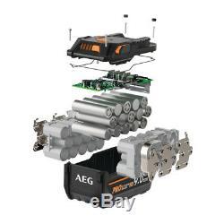 AEG L1890RHD Akku mit 18 Volt Akkuspannung, 9 Ah Akkukapazität, PRO Lithium-Ion