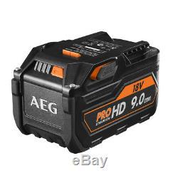 AEG L1890RHD Battery with 18 Volt Akkuspannung, 9 Ah Capacity pro Lithium-Ion