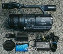 AS-IS Sony HDR-FX1 HDV Camcorder 12x With Battery, Charger, Tape READ DESCRIPTION