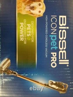 BISSELL ICONPet Pro High-Powered Cordless Vacuum in Copper 2746 (33805-2) New