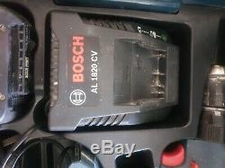 BOSCH GSB 18-2-Li PROFESSIONAL CORDLESS COMBI DRILL 2 x PREMIUM Batterys