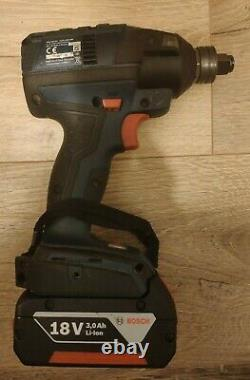 BOSCH Professional GDX18V-EC Brushless Impact Driver Wrench 3ah Battery charger