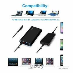 BatPower 148Wh 40000mAh Surface Pro 4 Portable Battery Charger Charging Station