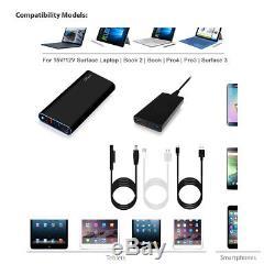 BatPower ProE 2 ES15 External Battery for Surface Pro Laptop Book 210Wh/56000mAh