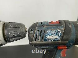 Bosch 18v 2 x Drill & Impact Driver GSB1800 and GDR18-Li Professional + Case