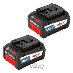 Bosch 2 Stück Akkupack GBA 18 Volt 6,3 Ah EneRacer Professional