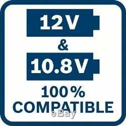 Bosch Akkupack GBA 12 Volt 6,0 Ah Professional 2 Stück