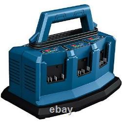 Bosch GAL 18V6-80 6 port 18v Bosch Professional Battery Charger 240v