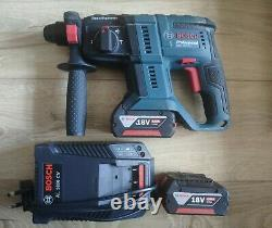 Bosch GBH 18V-20 Professional Cordless Rotary Hammer With 2 4.0Ah Batteries