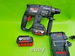 Bosch GBH 18V-EC Professional Rotary Hammer Drill with SDS. BLACK EDITION