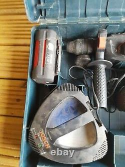 Bosch GBH 36VF professional Hammer Drill, 2 x batteries charger case