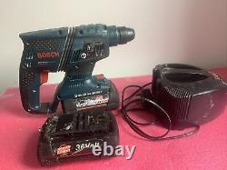 Bosch GBH 36V LI compact professional Hammer Drill, Charger and 2 x batteries