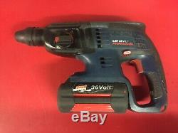Bosch GBH 36V-Li Professional SDS hammer Drill/Chisel, Battery, Charger 36V