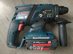 Bosch GBH 36V compact professional Hammer Drill, Charger and 2 x 1.3 batteri