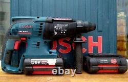 Bosch GBH 36 V-LI Professional Cordless SDS Plus Hammer Drill x 2 Batteries