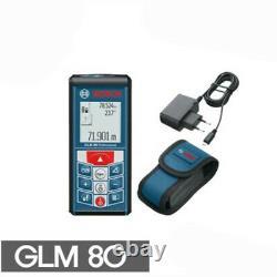 Bosch GLM80 Professional Laser Distance Angle Measure / 220V Charger