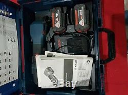 Bosch GOP 18V-28 Professional Multi Tool With 2x 5.0Ah Batteries, charger, case