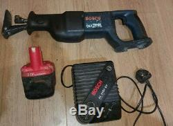 Bosch GSA 24 VE Professional Reciprocating Saw 24V GK with 24v battery charger