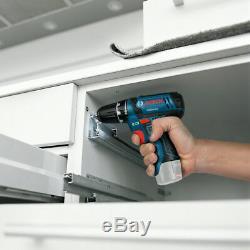Bosch GSB12V-15 Professional Combi Drill + 2 x 2Ah Batteries, Charger & Tool Bag
