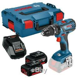 Bosch GSB18V-28 Professional Cordless Combi Drill + 18V 3.0Ah Battery2, Charger