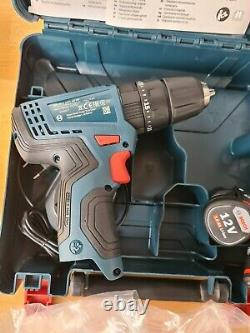 Bosch GSB 120 LI Professional 12V with 2(two) x 2Ah Batteries and Charger