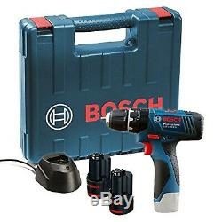 Bosch GSB 120 LI Professional 12V with 2 x 1.5 Ah Batteries with Charger an