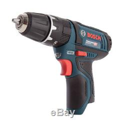 Bosch GSB 12V-15 12V Professional Combi Drill With 2 x 2.0Ah Batteries & Charger