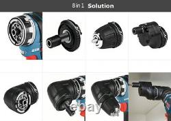 Bosch GSR 10.8V-35 FC 2x3.0Ah BL 35/20Nm 4xAdapter Keyless Free UPS Charger 220V