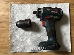 Bosch GSR 18 V-60 FCC Flexi Click Professional in L-Box Plus Charger And Battery