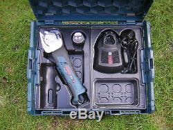 Bosch GUS 10.8V-Li Professional universal shear battery charger l boxx