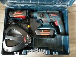 Bosch Gbh 36v-LI compact professional with 2x bosch LI-lon batteries + charger