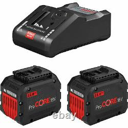 Bosch Genuine PRO ProCORE 18v Cordless Li-ion Battery 12ah and Charger Kit