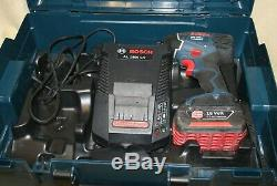 Bosch Impact Driver GDR 18-LI Professional & 18v 3.0Ah Battery, charger & case