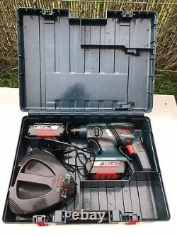 Bosch Professional GBH36V-CE 36V Brushless Drill, 2x2Ah batteries plus Charger
