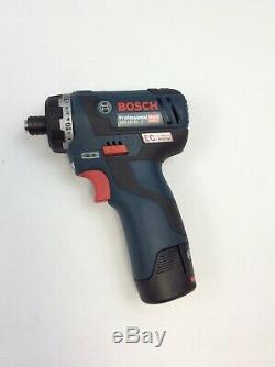 Bosch Professional GSR 12V-20 HX Drill Driver with 2x Battery & Charger