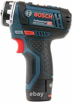 Bosch Professional GSR 12 V-15 FC Cordless Drill Driver Set With 2X Battery, Box