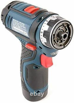 Bosch Professional GSR 12 V-15 FC Cordless Drill Driver Set With 2 x 12V Battery