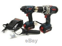 Bosch Professional GSR 18 VE-2-Li + GDR 18V-Li Complect 2in1