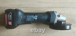 Bosch Professional GWS 18v LI Grinder + 3,0AH BATTERY + Charger