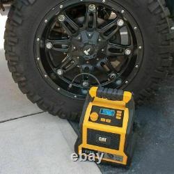 CAT Car Professional Jump Starter Battery Charger Compressor -1000 peak Amp