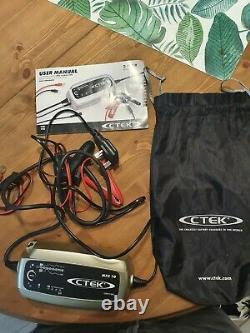 CTEK MXS 10 Fully Automatic Pro Battery Charger Charge, Maintain and Recondition